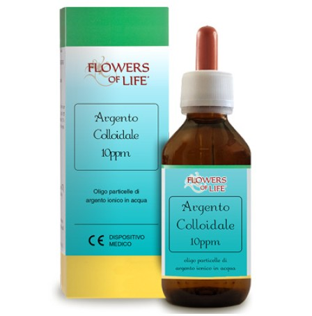 ARGENTO COLL 10PPM 100ML FLOWE