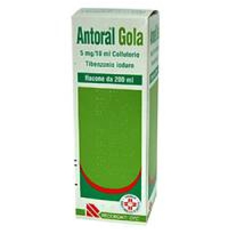 ANTORAL GOLA COLLUT200ML 100MG